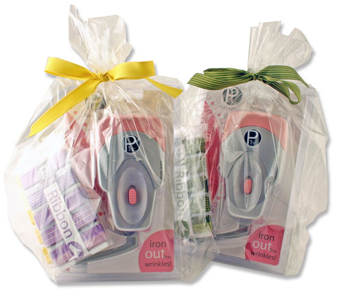 Pebbles-Ribbon Gift Set