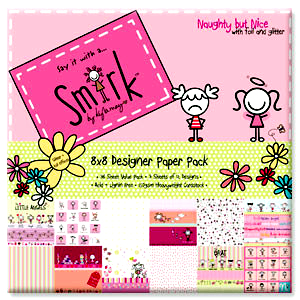 Smirk-Naught but Nice 12 x 12 pack-B