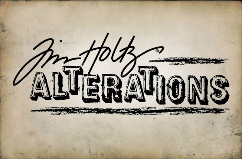 Tim Holtz Alterations Logo
