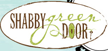 Shabby Green Door-logo