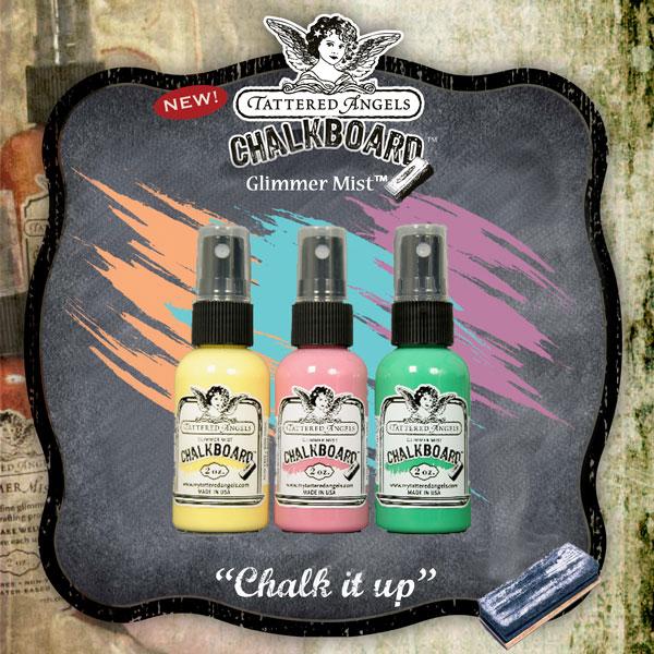 Chalkboard Glimmer Mist-Main