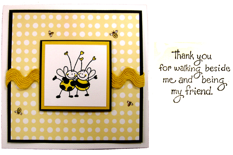 Sample-Card-Bee's Friendship