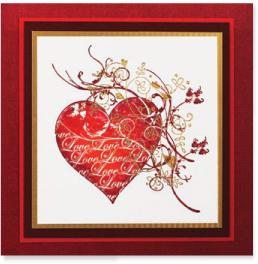 Card-Valentines 2010 #1