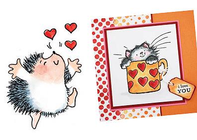 Card-Valentines 2010 #4
