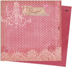 Victoria Double-Sided Paper - Printemps