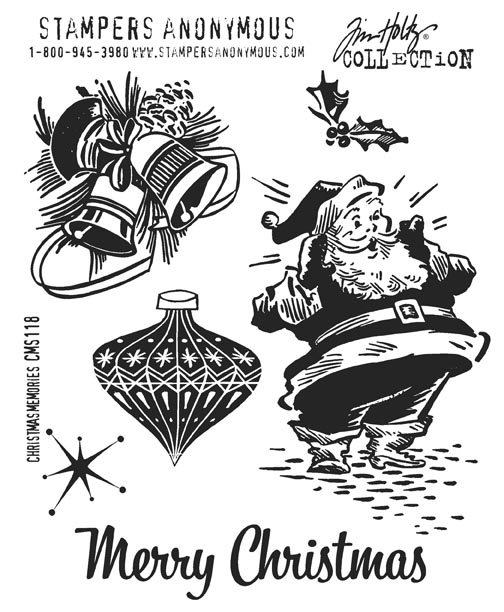 Scrapbooking Made Simple New Tim Holtz 2011 Holiday Stamps By
