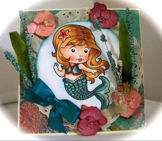 Marci-Mermaid Card